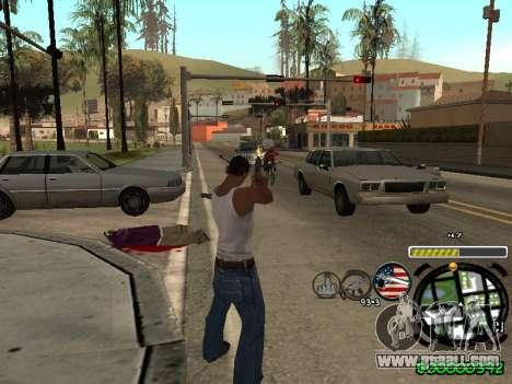 C-HUD Andy Cardozo for GTA San Andreas third screenshot