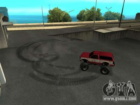 Street Monster for GTA San Andreas side view