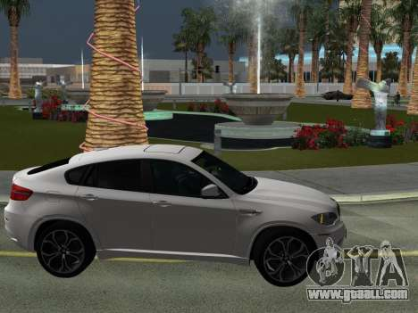 BMW X6M 2010 for GTA San Andreas upper view