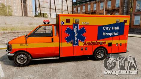 Brute CHH Ambulance for GTA 4 left view