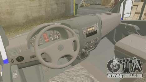 Mercedes-Benz Sprinter Itella Logistics for GTA 4 back view
