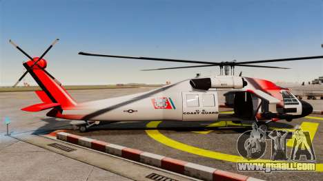 Annihilator U.S. Coast Guard HH-60 Jayhawk for GTA 4 left view