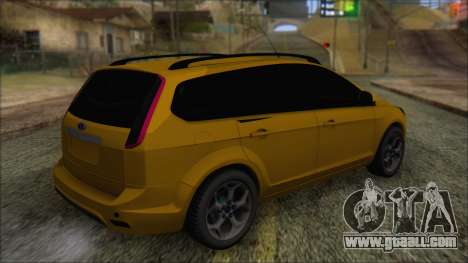 Ford Focus 2008 Station Wagon-Stock for GTA San Andreas left view
