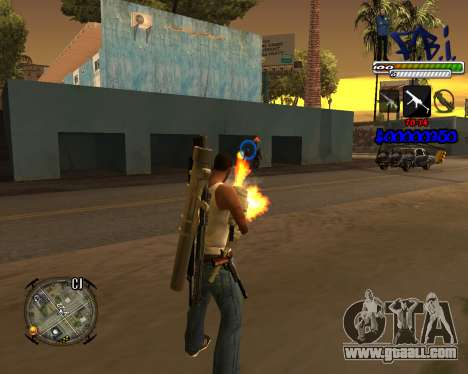 C-HUD FBI By iFreddy for GTA San Andreas second screenshot