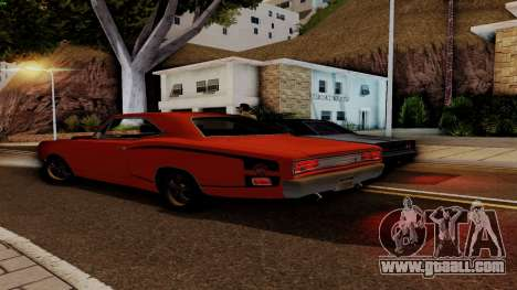 Dodge Coronet RT 1969 440 Six-pack for GTA San Andreas interior
