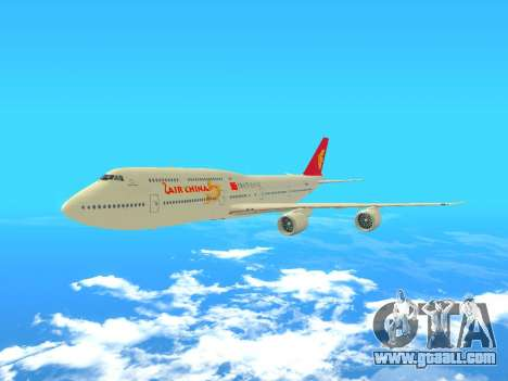 Boeing 747 Air China for GTA San Andreas