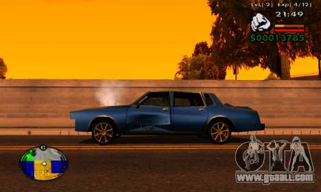 Strip HP machines for GTA San Andreas second screenshot