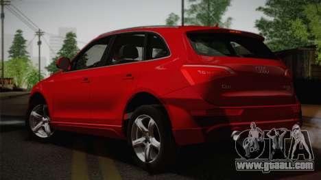 Audi Q5 2012 for GTA San Andreas left view