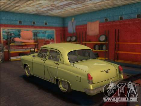 GAZ 21 for GTA San Andreas left view
