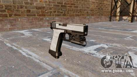 The pistol Glock 20 ACU Digital for GTA 4