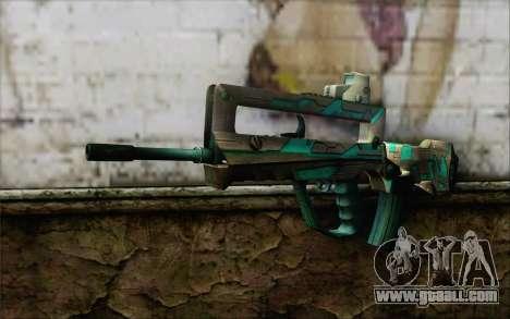 Famas G2 Commando Blaze for GTA San Andreas