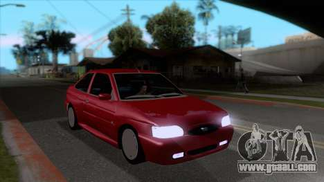 Ford Escort 1996 for GTA San Andreas back view