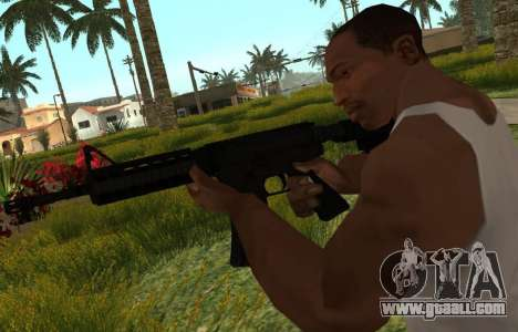 M4 CQB for GTA San Andreas third screenshot
