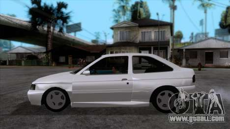 Ford Escort 1996 for GTA San Andreas left view