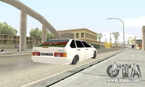 VAZ 2114 Avtosh for GTA San Andreas inner view