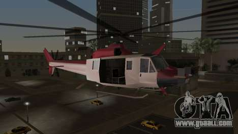 Bell HH-1D for GTA Vice City back left view