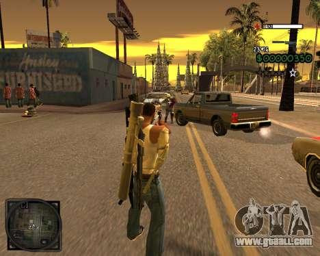 C-HUD Lite v2.0 for GTA San Andreas