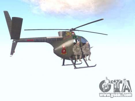 OH-6 Cayuse for GTA San Andreas right view