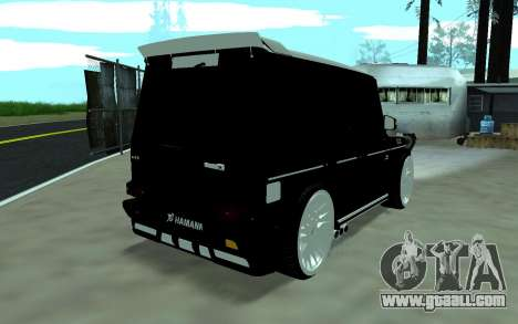 Mercedes G65 new tuninG for GTA San Andreas left view
