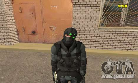 Archer from game Splinter Cell Conviction for GTA San Andreas