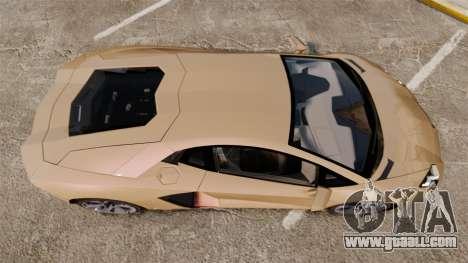 Lamborghini Aventador LP700-4 2012 [EPM] for GTA 4 right view