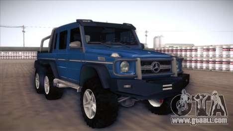 Mercedes-Benz G63 AMG 6X6 for GTA San Andreas left view