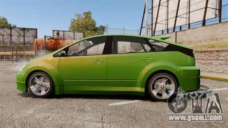Karin Dilettante new wheels for GTA 4 left view