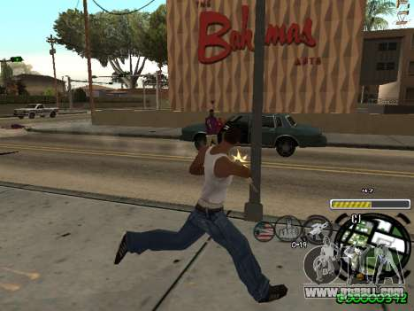 C-HUD Andy Cardozo for GTA San Andreas forth screenshot