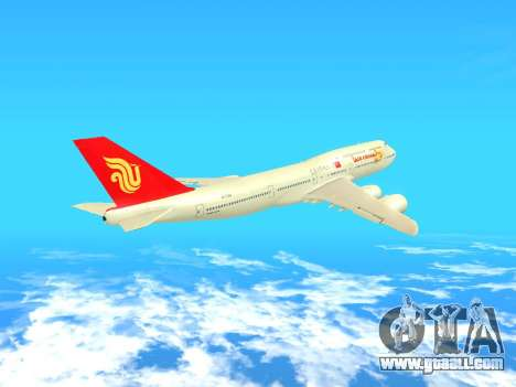 Boeing 747 Air China for GTA San Andreas inner view