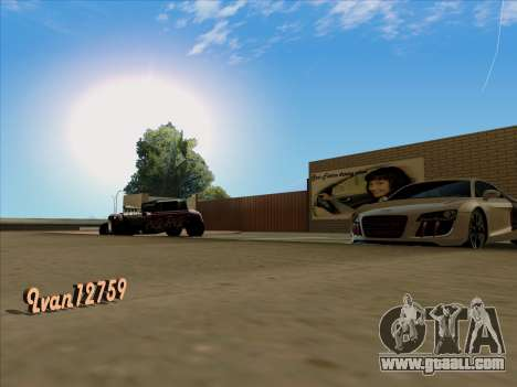 Updated textures school of driving for GTA San Andreas