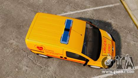 Peugeot Bipper LP EXPRESS [ELS] for GTA 4 right view