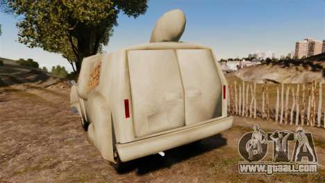 Van-clueless- for GTA 4 back left view