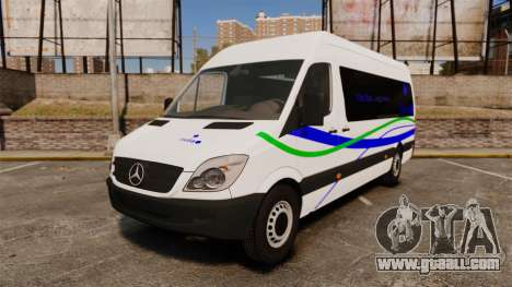 Mercedes-Benz Sprinter Itella Logistics for GTA 4