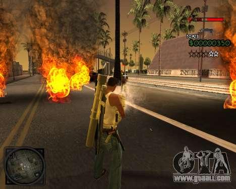 C-HUD Lite v2.0 for GTA San Andreas forth screenshot