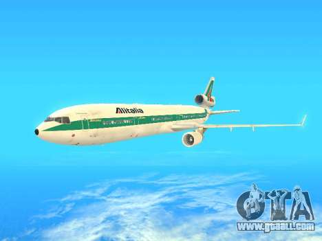 McDonnell Douglas MD-11 Alitalia for GTA San Andreas
