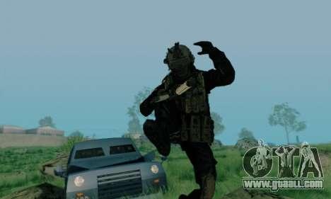 Kopassus Skin 3 for GTA San Andreas forth screenshot