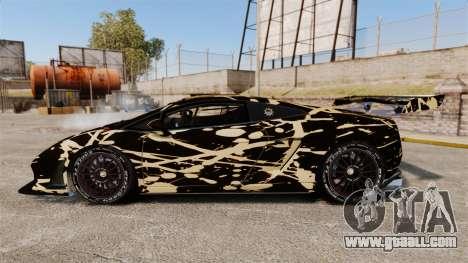 Lamborghini Gallardo LP560-4 GT3 2010 BLOB for GTA 4 left view