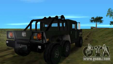 Patriot 6x6 for GTA Vice City right view