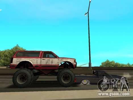 Street Monster for GTA San Andreas bottom view