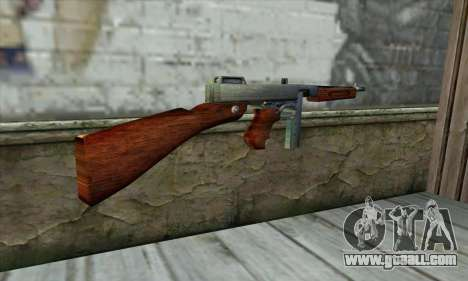 Thompson M1 for GTA San Andreas second screenshot
