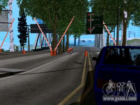 Customs Los Santos, San Fierro v2.0 for GTA San Andreas second screenshot
