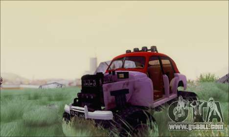 GAS M20 Monster for GTA San Andreas back view