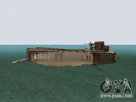 Landing Craft for GTA San Andreas left view