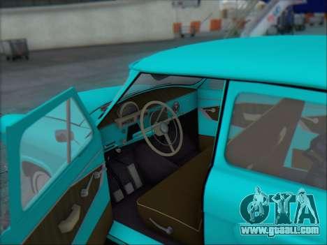 GAZ 21 for GTA San Andreas upper view