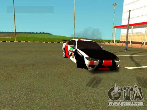 Nissan Silvia S15 Team Dragtimes for GTA San Andreas side view