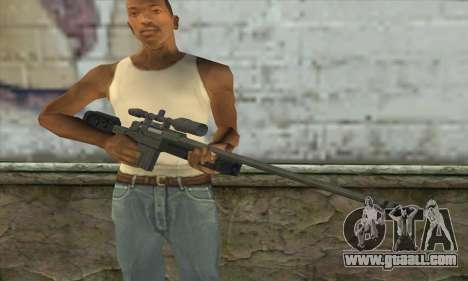 GTA V Sniper rifle for GTA San Andreas third screenshot