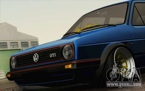 Volkswagen Golf MK2 LowStance for GTA San Andreas right view