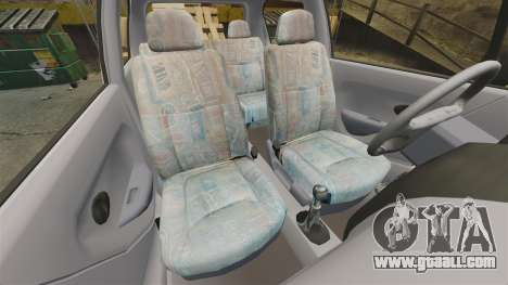 Daewoo Matiz SE 1998 for GTA 4 inner view
