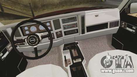 Jeep Carver 6X6 for GTA 4 inner view