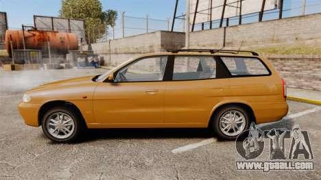 Daewoo Nubira I Wagon CDX PL 1998 for GTA 4 left view